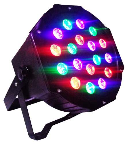 Cañón Alta Luminosidad Audioritmico Profesional Dmx en Web Electro