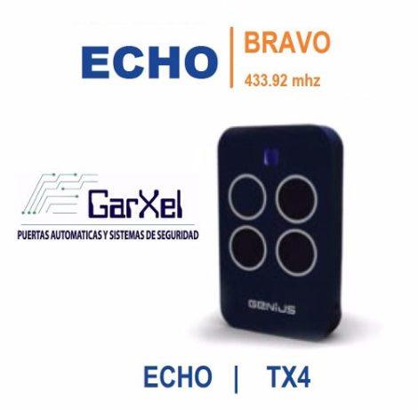 Control Remoto Genius Echo Bravo Tx4 433mhz | Merik Milord |