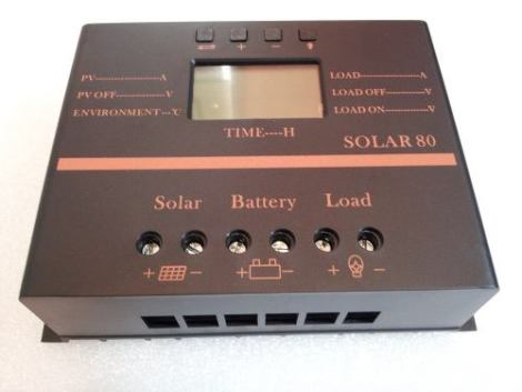 Controlador Regulador 80amp Disp Panel Solar 12/24v Bateria