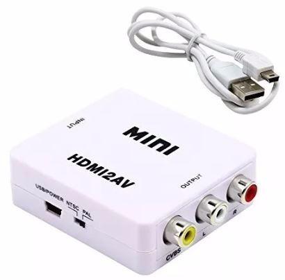 Convertidor Hdmi A Rca Audio Y Video – Te197 en Web Electro