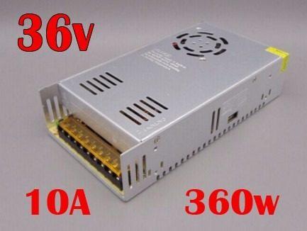 Fuente Poder 36v 10a 360w Cnc Led Transformador Ledshopmx en Web Electro