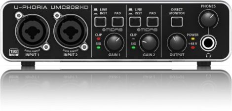 Interfaz Interfase De Audio Behringer U-phoria Umc202hd en Web Electro