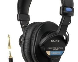 Ituxs Audifonos Sony Mdr-7506 Stereo Nuevo Somdr/7506