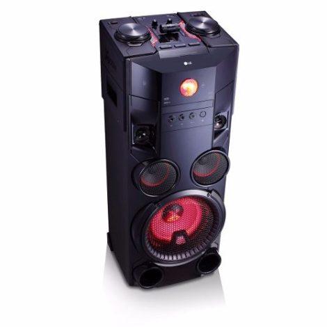 Lg Mini Componente Karaoke Bluethooth Usb Mp3 1000w Om7560 en Web Electro