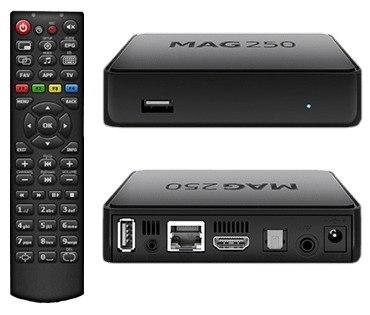 Mag250 Iptv Pvr 1080p Wifi en Web Electro