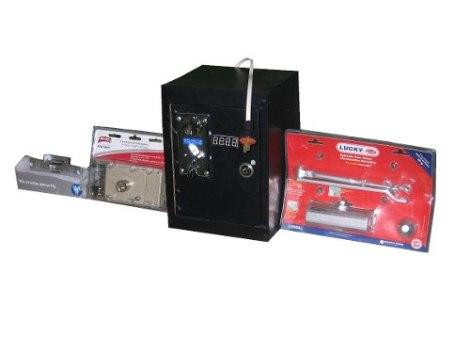 Máquina Tragamonedas Para Control De Acceso A Baños en Web Electro