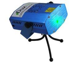 Mini Proyector Laser Audiorítmico Strobo Bicolor