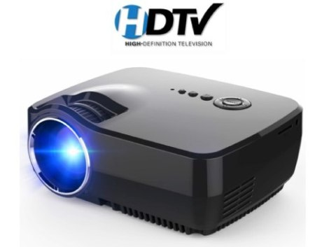 Mini Proyector Profesional Led Tv Digital Full Hd 1600 Msi en Web Electro