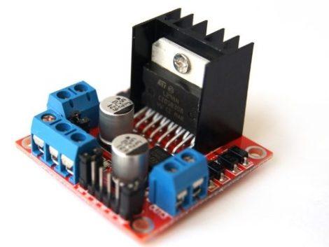 Modulo Puente H L298n Para Control De Motores (arduino