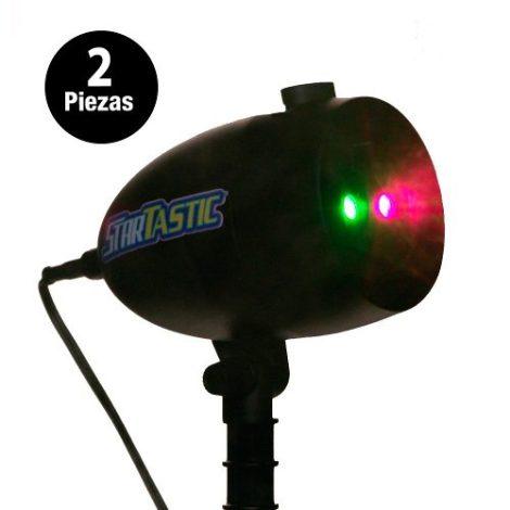 Paquete De 2 Luces Láser Startastic Con Movimiento en Web Electro