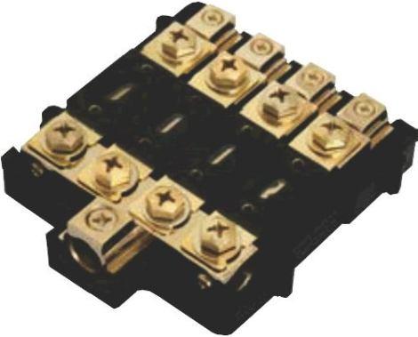 Porta Fusible Tipo Anl Cuatro Vias Para Amplificador Anl3042 en Web Electro