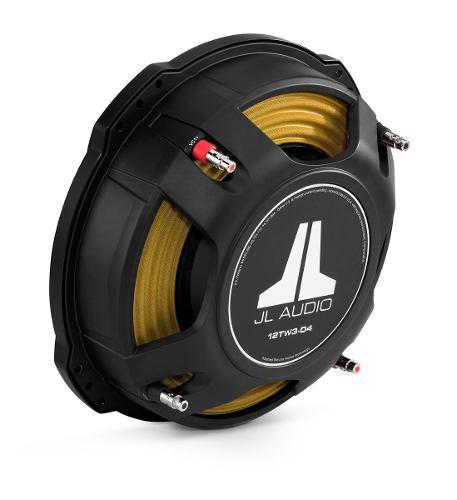 Subwoofer Plano Jl Audio 12tw3-d4 400w Rms en Web Electro