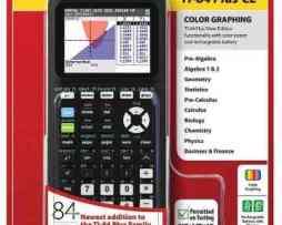 Texas Instruments Ti-84 Plus Ce Calculadora Grafica En Negro en Web Electro