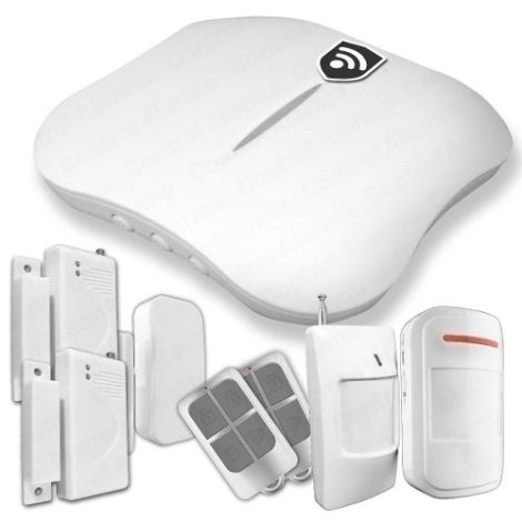 Alarma Dual Wifi Pstn Seguridad Casa Negocio Oficina App en Web Electro