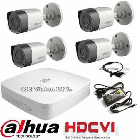 Kit Cctv Dahua 4 Camaras Megapixel 720p Hd en Web Electro