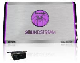 Amplificador Soundstream Stl1.3000d Clase D Colores 1 Ch New