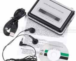 Convertidor De Cassettes A Mp3 Por Usb Grabadora P & Play