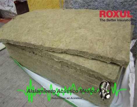 Lana Mineral Aislante Termo-acústico Lana De Roca 2.8lb/ft3