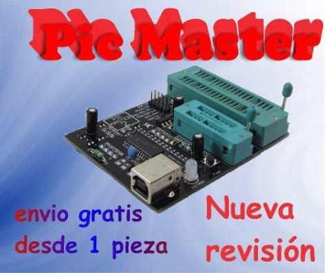 Programador Pic Master Kit Con Caja Acriico ¡envio Gratis!