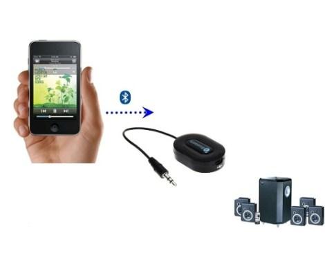 Receptor Bluetooth Audio Adaptador Plug-in Auto El Mejor