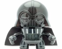Star Wars Figura Darth Vader  Reloj Despertador Luz 12cm
