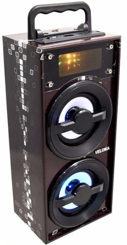 Velikka Bocina Usb Radio Fm Aux Bluetooth Vkk-2026 Mini Neg