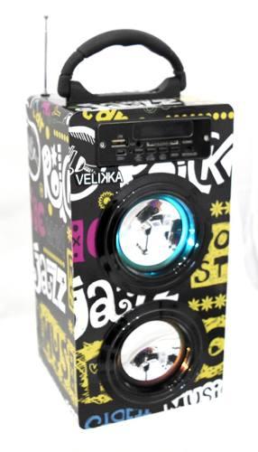 Velikka Bocina Usb Radio Fm Bluetooth Aux Vkk-2026bt Jazz
