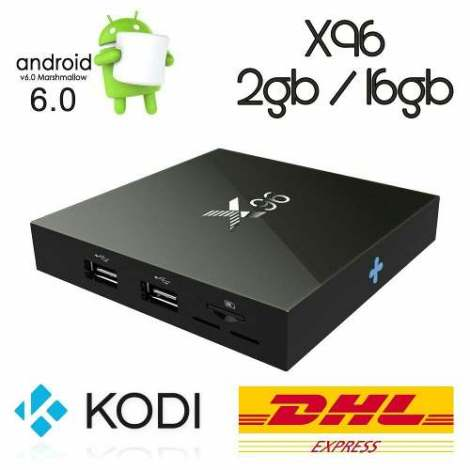 X96 Tv Box / 2gb Ram / 16gb / Android 6.0 / Kodi / Netflix