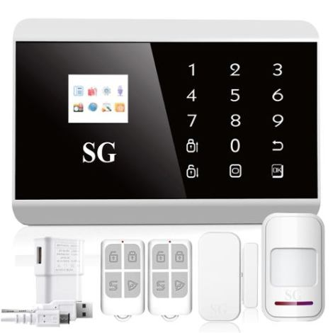 Alarma Touch Gsm Dual Seguridad Casa Negocio Vía App Celular