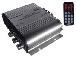 Amplificador Dxr 4 Canales 1400w Radio Fm Con Digital Player