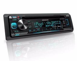 Autoestéreo Kenwood Kdc-265u Radio Fm Cd Usb Din Multicolor