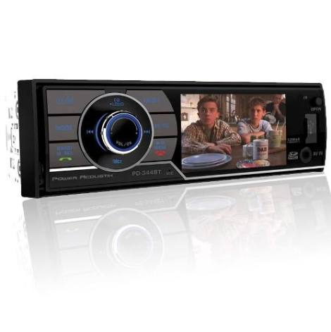 Autoestereo Power Acoustik Pd-344b Usb Dvd Bluetooth Tv Lcd