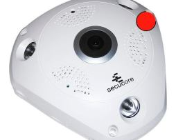 Camara Ip Cctv Vr 360 Video Hd 960p Wifi 1.3 Mp Audio Ir Ptz