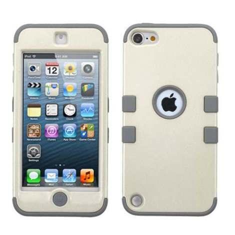Funda Protector Triple Layer Apple Ipod Touch 5g / 6g Blanco