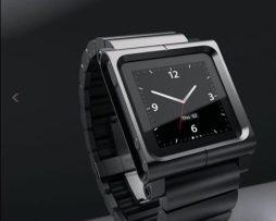 Lunatik Lynk Black Extensible Covierte En Reloj Tu Ipod Nano