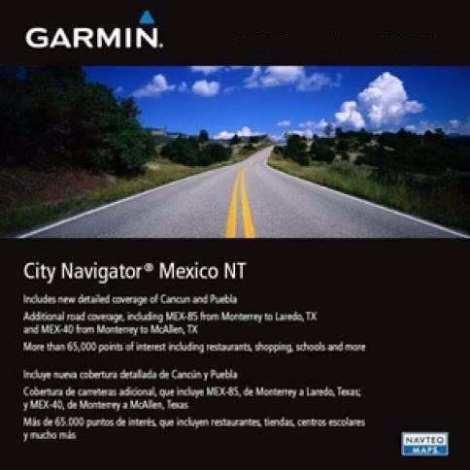 Nuevo Gps Mapa Garmin City Navigator Mexico Nt 2018.10 Nuvi