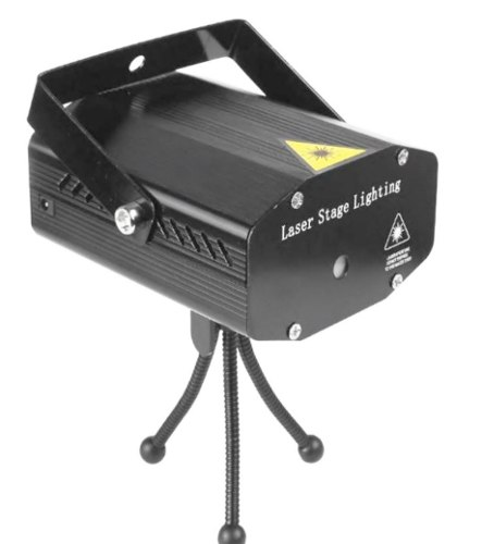 Oferta Luz Laser Bicolor Multipuntos Audioritmico Strobo Aut