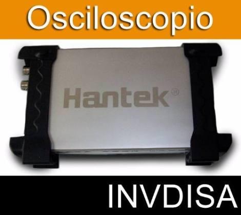 Osciloscopio Usb 2 Canales 20mhz Hantek 6022be