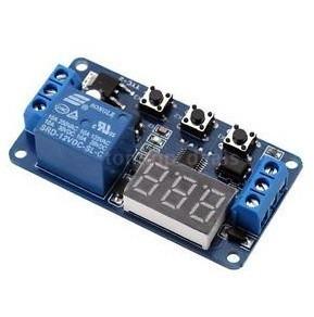 Timer Temporizador 12v Programable