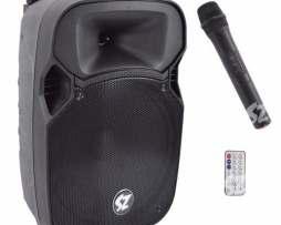 Bafle Bocina Amplificado Bluetooth Recargable Control Y Micr