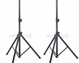 2 Tripie Para Bafle Stand Pedestal Base Bocinas Profesional
