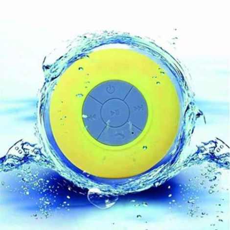 Bocina Bluetooth Resistente Al Agua Recargable Mp3 Qb09