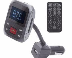 Transmisor Fm Bluetooth Manos Libres Cargador Cel Fmt-7030