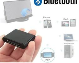Adaptador Bluetooth Para Equipos Con Dock De 30 Pin Msi