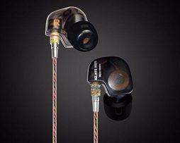 Audífonos Monitor Personal In Ear Kz Ate Negro Transparente