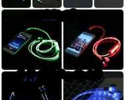 Auriculares Con Luz Led 3.5 Mm