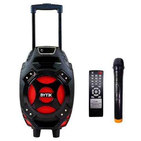 Bocina Amplificada Bafle 8 Pulgadas Portátil Bluetooth Usb