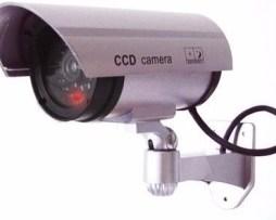 Camara Falsa Inalambrica Seguridad Vigilancia Ahuyenta Dummy