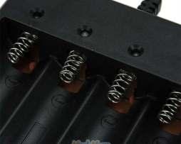 Cargador Bat. 18650 4 Slots Alto Rendimiento Envio Gratis
