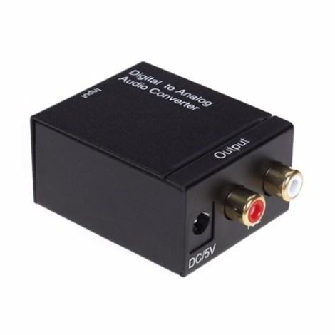 Convertidor Optico A Rca